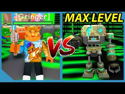 Defeating The Level 50,000,000 BOSS In Roblox RPG Simulator