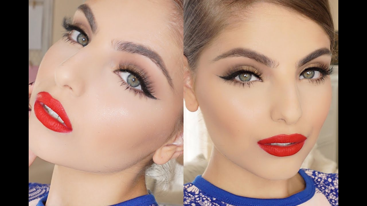 modern take on classic hollywood glam makeup tutorial