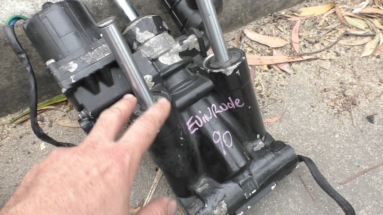 small resolution of replacing an evinrude trim tilt unit