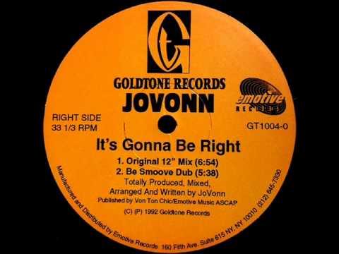 Jovonn - It's Gonna Be Right (Goldtone Dub)
