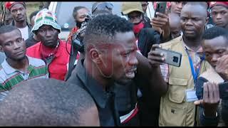 ENNAKU Y'OKUWENJA AKALULU: Robert Kyagulanyi asuze ku kkubo