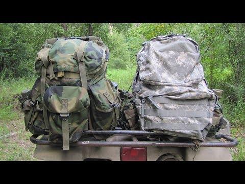 Military Surplus Packs: Medium Alice Vs. Medium Molle