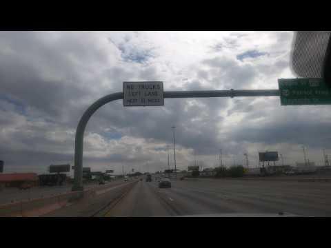 El Paso Texas...driving...