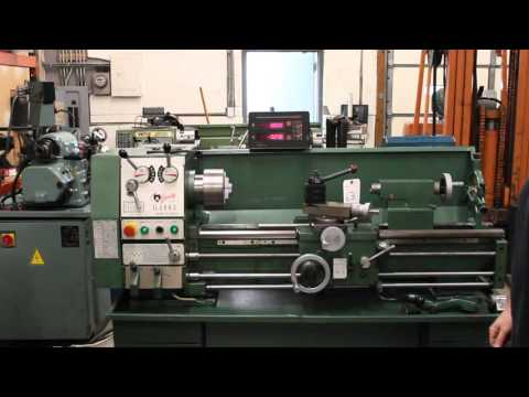 Lot 63 Grizzly 12 x 36 engine lathe - YouTube