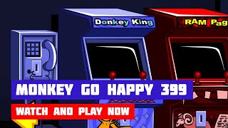Monkey GO Happy: Stage 399 — 80's Arcade · Game · Walkthrough