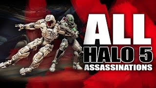Halo 5 | All Assassinations Montage