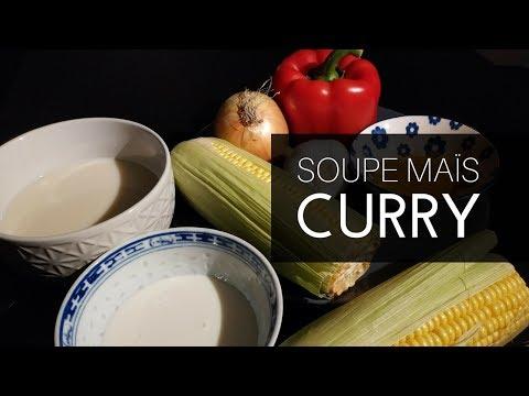 soupe-maïs-curry-(vegan-asiatique)-facile