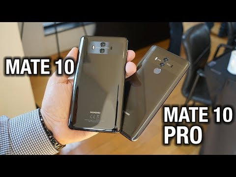 Meet the Huawei Mate 10 and Mate 10 Pro!