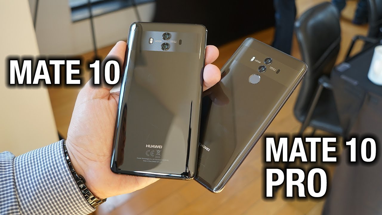 meet the huawei mate 10 and mate 10 pro youtube. Black Bedroom Furniture Sets. Home Design Ideas
