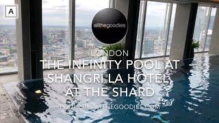 The Infinity Pool at Shangri-La Hotel at The Shard, London   Swimmingpools by allthegoodies.com