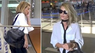 Rosie Huntington-Whiteley Looks Sleepy Catching Flight Out Of L.A.