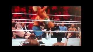 Monday Night Raw Highlights 21st May 2012