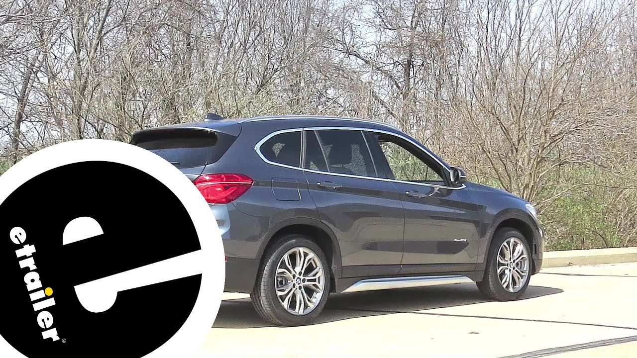 Etrailer Trailer Hitch Installation 2017 Bmw X1 Youtube