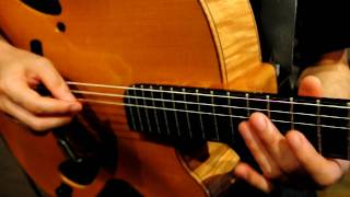 Acousphere Guitar Study #5 - George Benson Phrase From