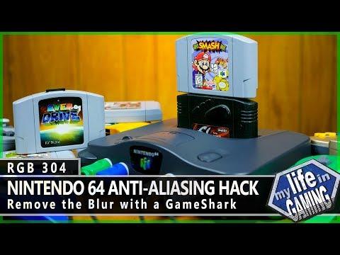 RGB304 :: N64 Anti-Aliasing Hack - MY LIFE IN GAMING