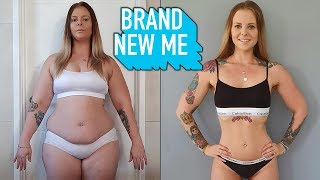 Fitness Goals: My Incredible Body Transformation | BRAND NEW ME