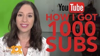 How to Get to 1000 Subscribers [HOW I GREW MY CHANNEL]