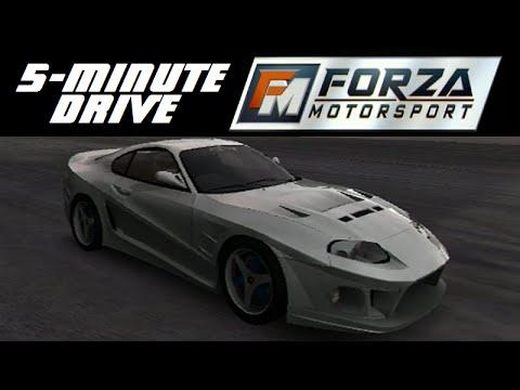 5 Minute Drive Forza Motorsport 1998 Toyota Ab Flug S900 Supra Turbo