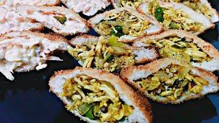 Shawarma pocketBread pocketVegetable Bread PocketChicken Bread Pocket