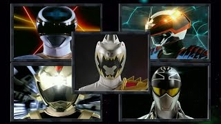 Power Rangers - Forever Silver / Gray Ranger Morphs | Power Rangers in Space - Dino Super Charge