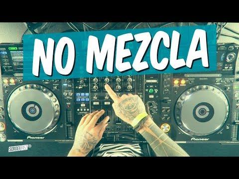 CÓMO REALIZAR LA 'NO MEZCLA' (cuando no se puede mezclar algo)