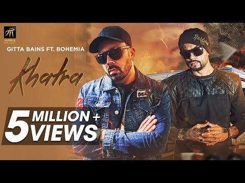 Khatra | Gitta Bains Ft. Bohemia | Latest Punjabi Songs 2018 | Humble Music