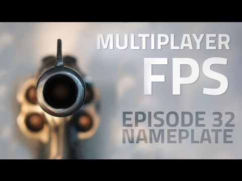 Making a Multiplayer FPS in Unity (E32. Nameplates) - uNet Tutorial