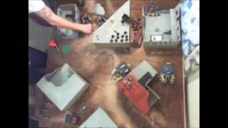 Battle For Unravian Prime - Mission Two - I Thought They Were With You - Warhammer 40k Battle Report