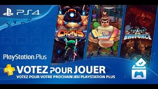 Vote To Play PS Plus Mars 2016 - Comment voter pour jouer ?