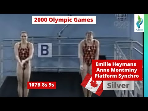 2000  Emilie Heymans Anne Montminy CAN - 107b -  9s - Platform