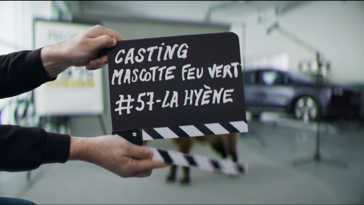 """Musique de la pub Feu Vert – La Hyène """"casting mascotte Feu Vert #57""""  Mai 2021"""