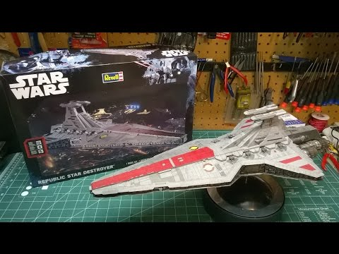 Revell Republic Star Destroyer Model Kit Build 85-6458 Star Wars Rogue One