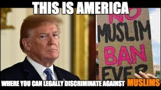 Trump Legalizes Bigotry. #AmericasShame