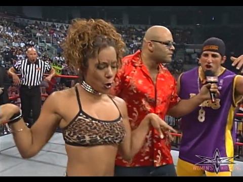 (720pHD): WCW Nitro 08/14/00 - Mysterio/Guerrera (w Tygress & Filthy Animals) vs. Vampiro/Great Muta