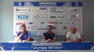 07.05.2017 Pressekonferenz nach der Begegnung FC Strausberg vs. Hansa Rostock II