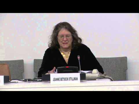 Jeanne Betsock Stillman: 2013 UNA-USA Members' Day at the UN