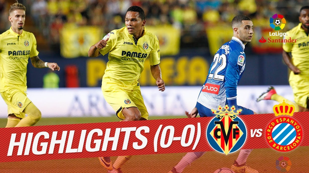 Villarreal 0-0 RCD Espanyol