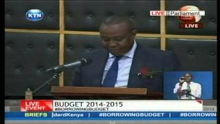 BUDGET 2014 - 2015; Cabinet Secretary Henry Rotich explains how the government will collect revenue