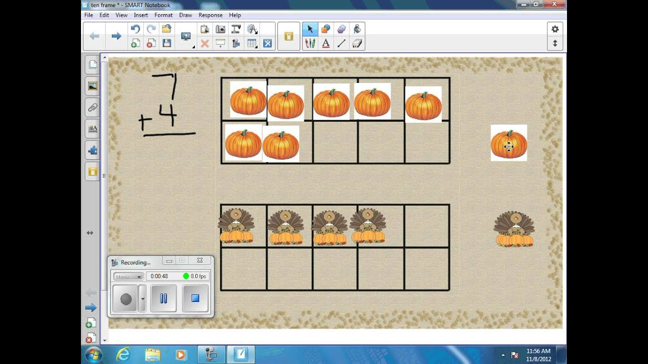 Copy Of Adding Using Tens Frames - Lessons - Tes Teach