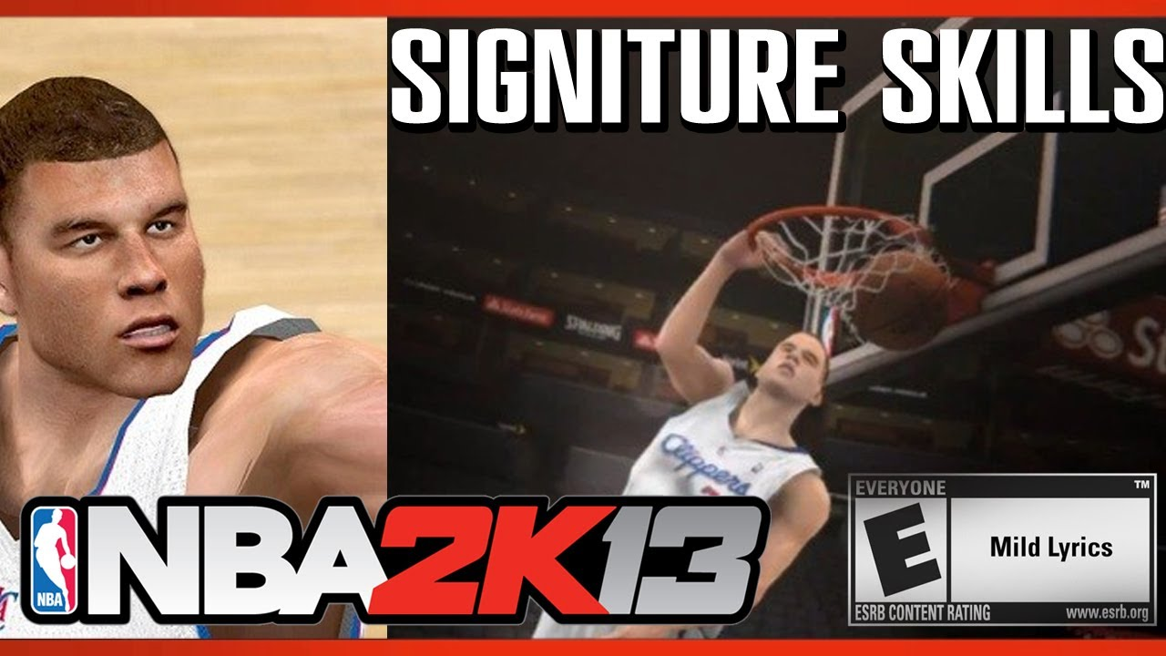 2907dd7448d6 Blake Griffin NBA 2K13 Signature Moves Skills - YouTube