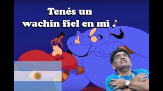 """UN WACHIN FIEL - Parodia argentina """"Aladdin"""" - Fedebpolito"""