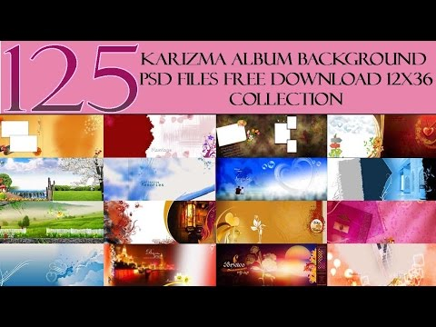 125 Karizma Album Background Psd Files Free Download 12x36 Collection