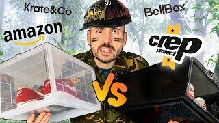 COMMENT RANGER SES SNEAKERS?! C'est la guerre des boites! Test des Crep Protect, Amazon, BellBox,etc