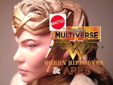 Fu-Reviews: Mattel DC Comics Multiverse Wonder Woman Movie Queen Hippolyta & Ares Figures