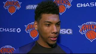 Allonzo Trier: I Can Call New York Home | New York Knicks Game Night