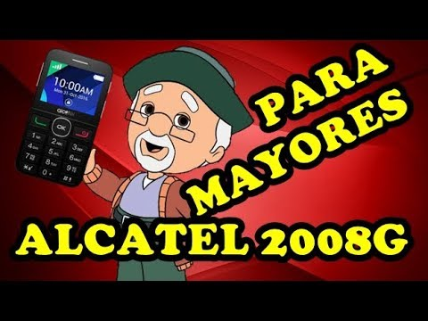 Mejor Movil Para Personas Mayores [Alcatel OneTouch 2008G ...