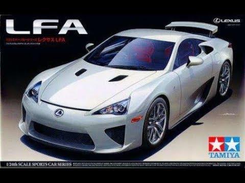 Tamiya 1/24 Lexus LFA post build review