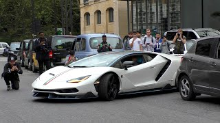 Qatar BILLIONAIRE Royal drives his INSANE hypercars in Central London!