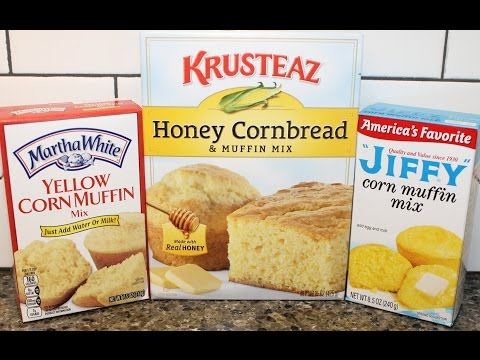 Corn Muffin Mix Blind Taste Test: Martha White Vs Krusteaz Vs Jiffy