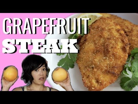 GRAPEFRUIT PEEL STEAK